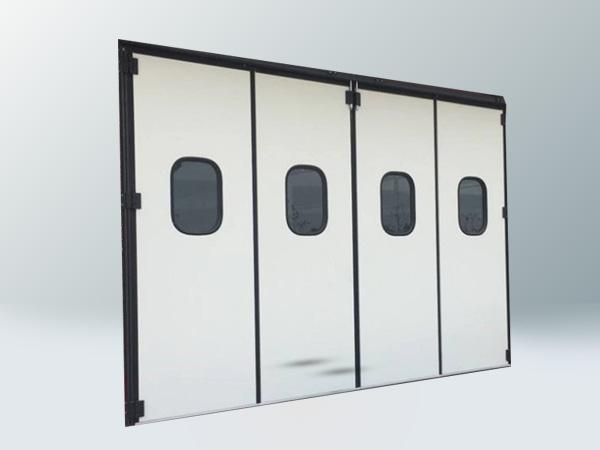 工业电动折叠门